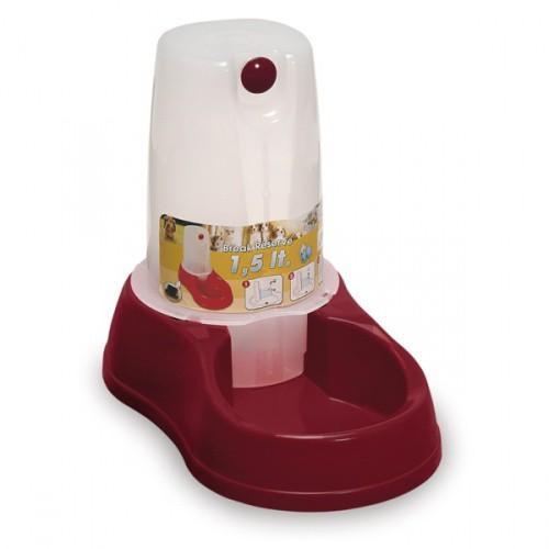 Zásobník s miskou na vodu pro psy a kočky MAYA, 1,5l