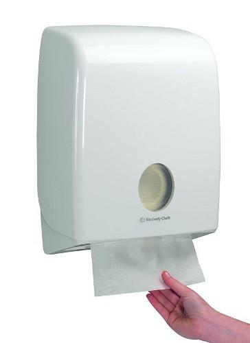 Zásobník AQUARIUS na skládané papírové ručníky