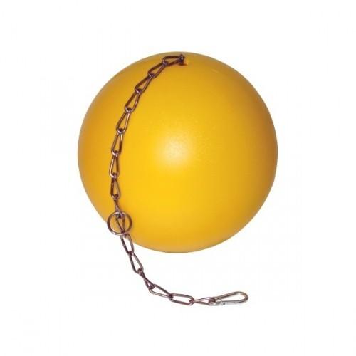 Hračka pro selata, míč antistresový s řetězem