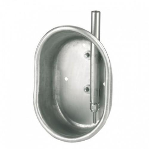 Napáječka misková nerezová pro výkrm 19 x 27 x 11 cm