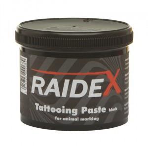 Tetovací barva RAIDEX 600g černá