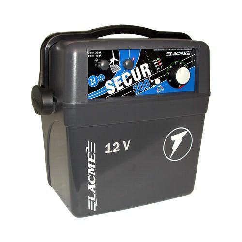 Elektrický ohradník kombinovaný SECUR 300, určen pro skot, ovce, koně a divokou zvěř