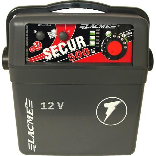 Elektrický ohradník kombinovaný SECUR 500, určen pro skot, ovce, koně a divokou zvěř
