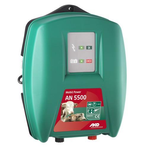 Elektrický ohradník kombinovaný MP AN 5500 (určen pro skot, koně, ovce a divokou zvěř)