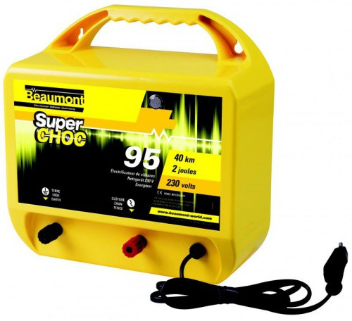 Elektrický ohradník síťový BEAUMONT Super Shoc 95 230V 4 / 2J