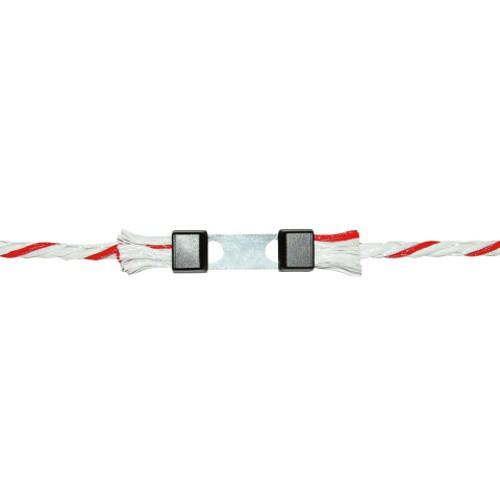 Spojka na lano do 6 mm - přímá 10 ks