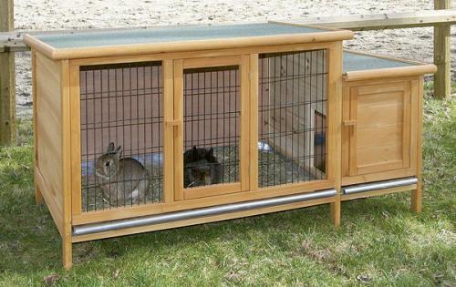 Králíkárna XXL - kotec pro králíky,morčata a jiné hlodavce