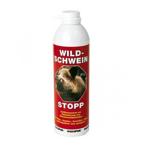 Odpuzovač černé zvěře pro pachový ohradník HAGOPUR Duftzaun - Wildschwein Stopp 400 ml