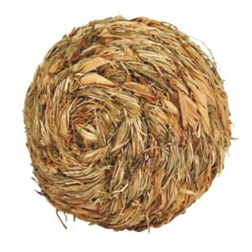 Balón ze spletené trávy, 13cm