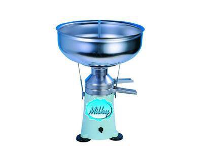 Odstředivka na mléko MILKY FJ 125 hliníková nálevka, nylonové kanálky