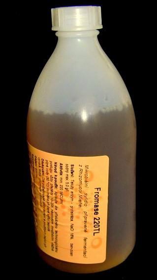 Syřidlo mikrobiální FROMASE 220 TL 500 ml