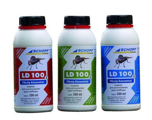 LD 100 B tekutý koncentrát k hubení much ve stáji, 500 ml