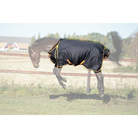 Nepromokavá deka pro koně 300 g, černá