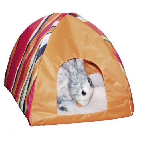 Domek pro králíky nylonový TIPI, 30 x 30 x 30 cm