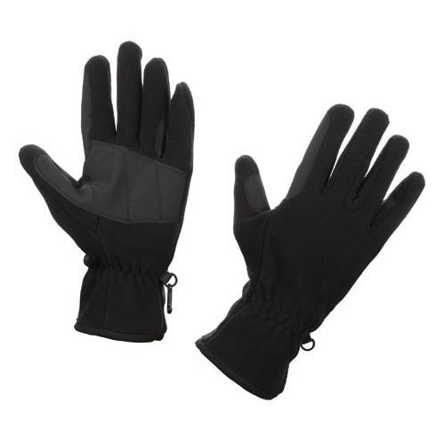 Jezdecké rukavice fleece, černé