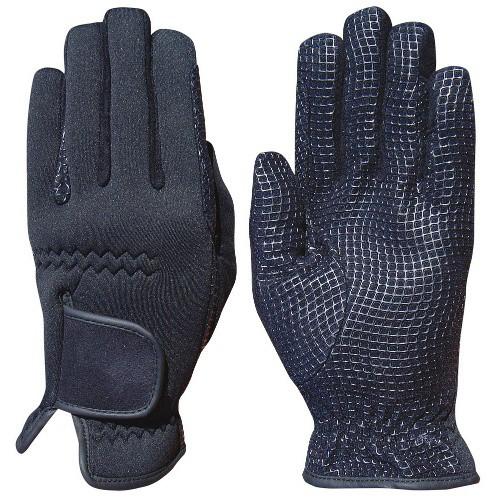 Jezdecké zimní rukavice, neopren