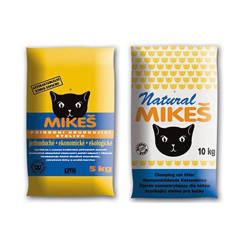 Stelivo pro kočky MIKEŠ, 10 kg