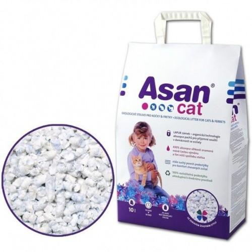 Stelivo pro kočky a fretky ASAN Pure cat 10 l