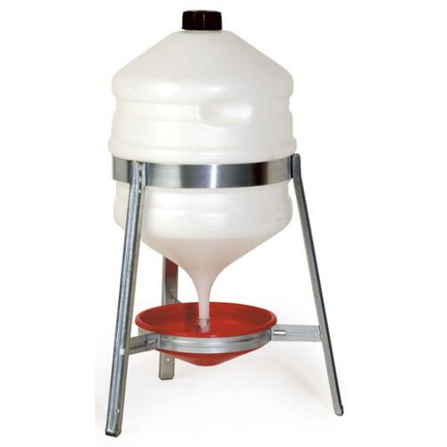 Napáječka pro drůbež barelová plast/pozink 30 l
