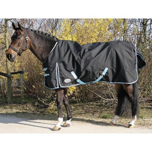 Deka pro koně nepromoková Harrys Horse, fleece, černá