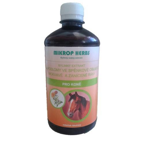 Bylinný dezinfekční extrakt Mikrop Herbs, 500 ml