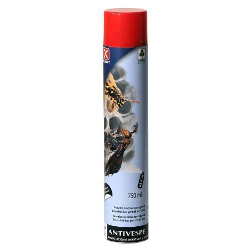 Insekticidní sprejová bombička ANTIVESPE proti vosám, 750 ml