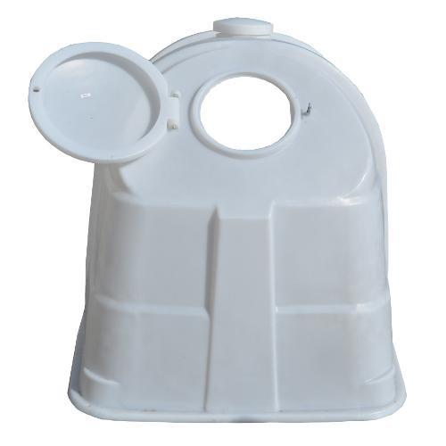 Bouda pro telata - velká CH 110 W (195×135×135 cm) bílá