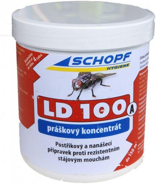 LD 100 A vhodný do stájí pro koně