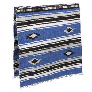 Deka Navajo modrá, 150 x 75 cm
