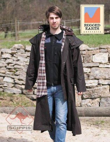 Westernový australský kabát RUGGED EARTH Horseman coat