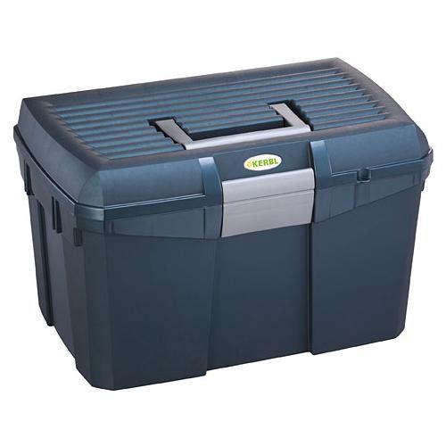Box na čištění s vyjímatelnou přihrádkou SIENA, modrý