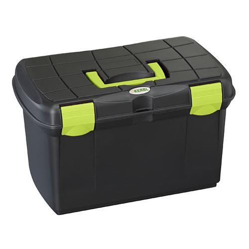 Box na čištění Arrezzo, černo-zelený