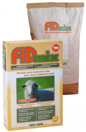 FIDmix minerální krmivo pro kozy, ovce a spárkatou zvěř, 1 kg