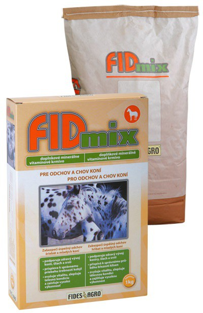 FIDmix minerální krmivo pro odchov a chov koní, 1 kg