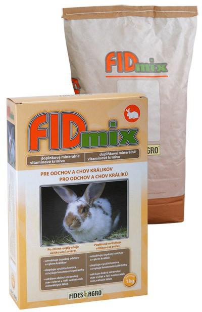 FIDmix minerální krmivo pro odchov a chov králíků, 1 kg