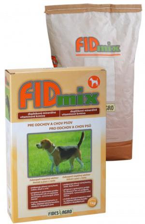 FIDmix minerální krmivo pro štěňata a psy v růstu, 1 kg