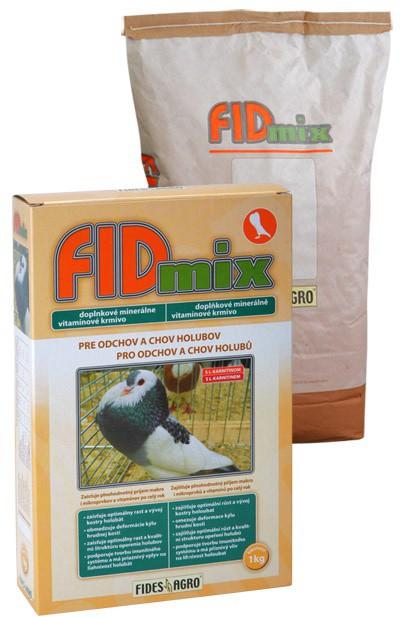 FIDmix minerální krmivo pro holuby, 1 kg