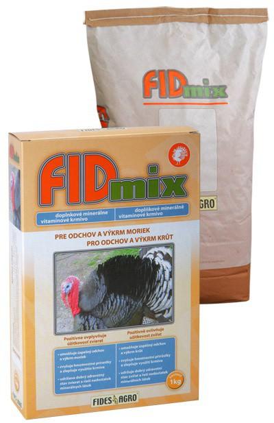 FIDmix minerální krmivo pro krůty, 1 kg