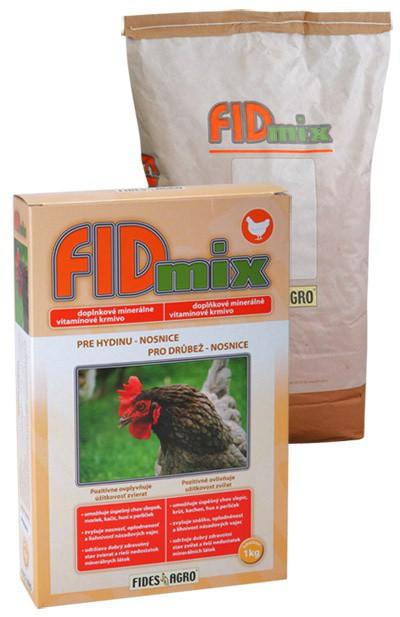 FIDmix minerální krmivo pro drůbež - nosnice, 1 kg