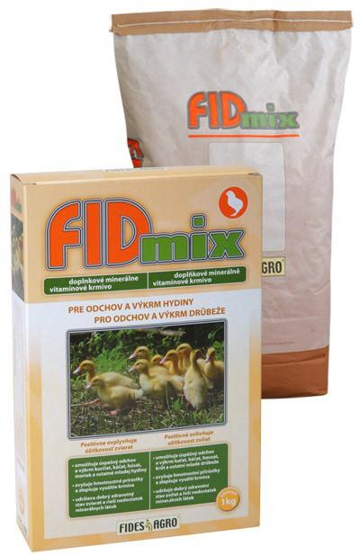 FIDmix minerální krmivo pro drůbež - odchov, 1 kg