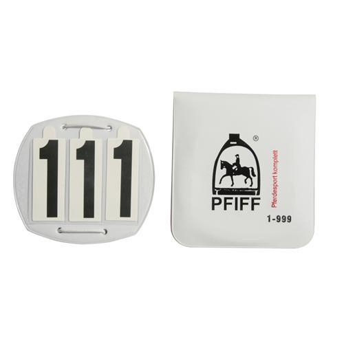 Čísla závodní, Pfiff, 3 číslice
