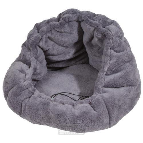 Pelíšek pro psy nebo kočky Adriana, šedý, 40 cm