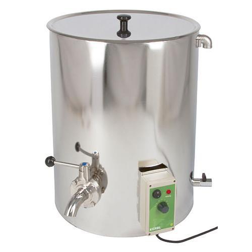 Ohřívač mléka s možností pasterizace, 50 l