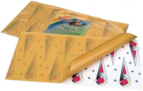 Lepivá karta na mouchy - MUCHOLAPKA STICKY FLY CATCHER STALL