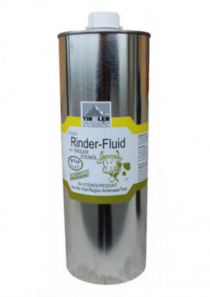 Ochranný fluid pro koně a dobytek Steinöl 1000 ml
