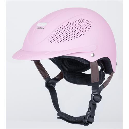 Dětská jezdecká bezpečnostní přilba USG, růžová, vel. XS-S