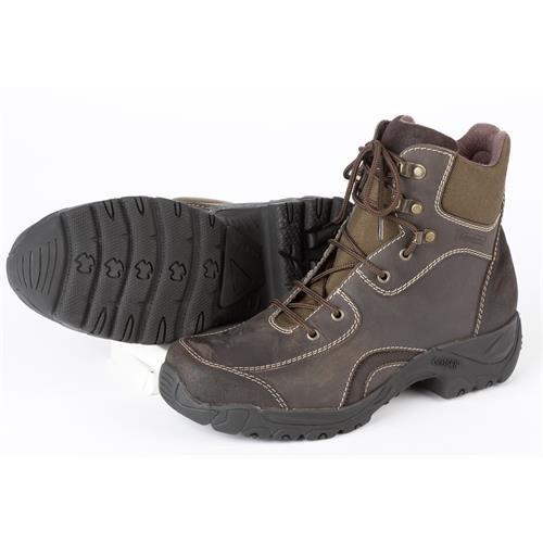 Jezdecké kožené boty Verano, hnědé
