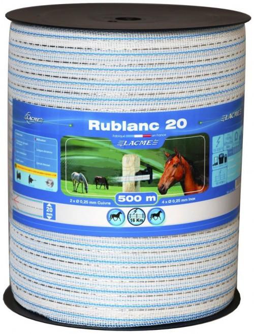 Elektrická páska RUBLANC 20 mm, 500 m