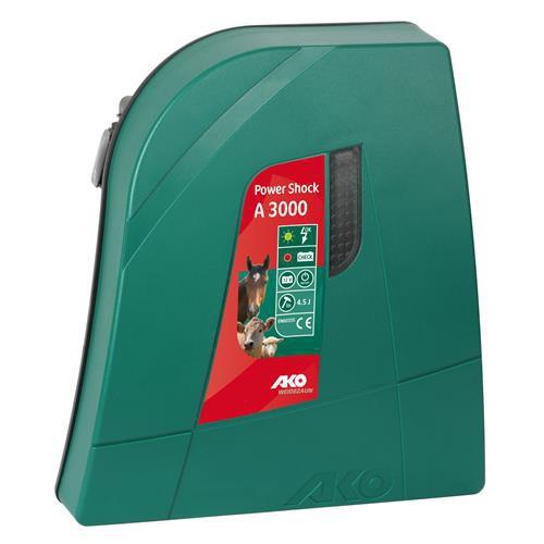 Zdroj pro elektrická hrazení AKO Power Shock A 3000, bateriový 12 V, výkon 3 J + zkoušečka bezkontaktní