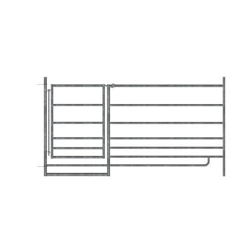 Panel pro ovce KERBL 0,92 x 1,8 m, pozinkovaný, s dveřmi